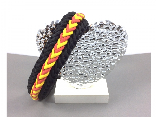 Paracord Hundehalsband selber machen Anleitung Waterfall