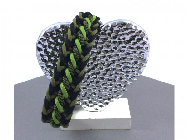 Paracord Hundehalsband Crown Trail